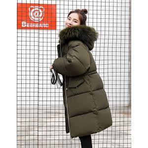 ロング コート レディース 中綿 コート 女性用 中綿ジャケット フード付き フェイクファー コート 防寒 レディース 中綿 アウター 厚手 冬物|lefutur|11