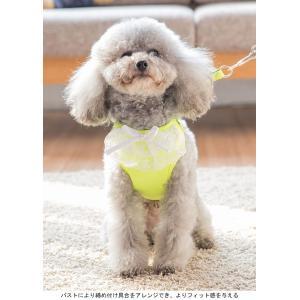 犬服 ハーネス&リード 2点セット ドッグウエア 小型犬 ペット服 中型犬 犬用 猫服 ベスト 胴輪 ペット用品 ドッグ服 首輪|lefutur|04