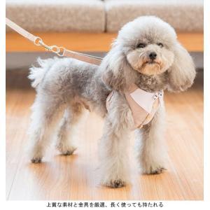 犬服 ハーネス&リード 2点セット ドッグウエア 小型犬 ペット服 中型犬 犬用 猫服 ベスト 胴輪 ペット用品 ドッグ服 首輪|lefutur|05