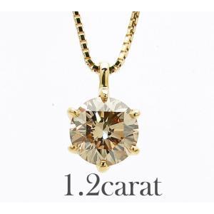 1.2カラットダイヤモンドネックレス  ネックレス 一粒ダイヤモンド 1カラット ダイヤネックレス ...