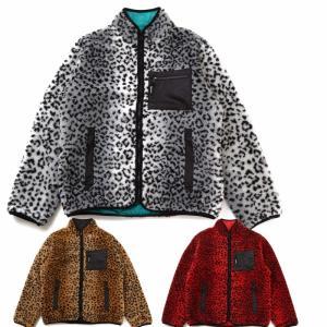SUPREME シュプリーム Leopard Fleece Reversible Jacket アメリカ正規直営店買付分|leicester