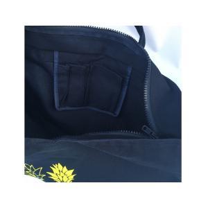 ファスナー&ポケット付ネオンカラーキャンバス地・BIGトートバッグ(二コちゃん・スマイル)/超軽量・フラバッグ・マザーズバッグ・肩掛け・大容量・洗濯可|leimaikai-hawaii|08