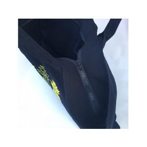 ファスナー&ポケット付ネオンカラーキャンバス地・BIGトートバッグ(二コちゃん・スマイル)/超軽量・フラバッグ・マザーズバッグ・肩掛け・大容量・洗濯可|leimaikai-hawaii|09