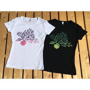 ブレッドフルーツ(パンの実)/半袖Tシャツ M・L・XL/フラ・ストレッチ・フラダンス・ハワイアン・レディース・レイ・レッスン |leimaikai-hawaii