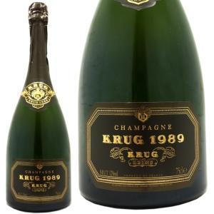 クリュッグ ヴィンテージ 1989箱入り シャンパン 泡 白...