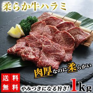 ハラミ 1kg 牛ハラミ 焼肉 送料無料 牛肉 やわらかハラミ 肉 ハラミ肉 サガリ バーベキュー ...