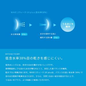 コンタクトレンズ2WEEK WAVE2ウィークUV×6箱セット ★買換え人気No.1!★ 2WEEK 送料無料|lens-apple|07