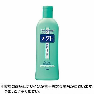 【キャッシュレス還元対象】オクトシャンプー マイルドフローラルの香り 320ml ×1個