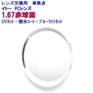 ニューオーブル167AS SKY2 1.67非球面レンズ ブルーライトカット イトーレンズ メガネ ...