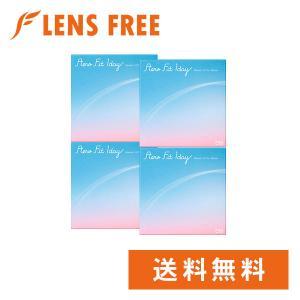 【キャッシュレス5%還元】コンタクトレンズ1DAY エアロフィットワンデー×4箱セット 送料無料|lensfree