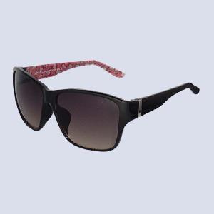 サングラス コスメグラス ブラック レオパード ピンク CG1001-c2|lensgallerys