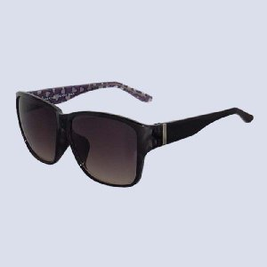 サングラス コスメグラス ブラックデミ レオパード バイオレッド CG1001-c4|lensgallerys