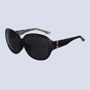 サングラス コスメグラス ブラック ゼブラ モノトーン CG1002-c1|lensgallerys