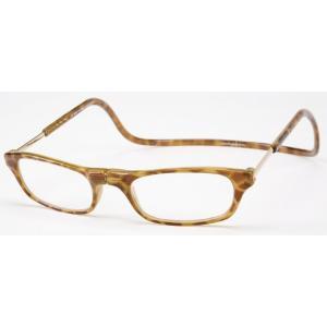 老眼鏡 クリックリーダー ブロンドデミ (BD)|lensgallerys