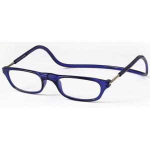 老眼鏡 クリックリーダー ブルー (BL)|lensgallerys
