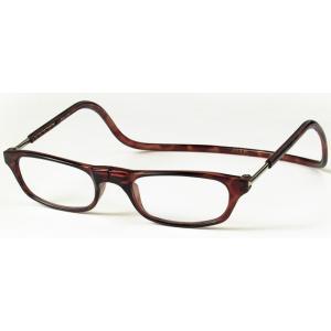 老眼鏡 クリックリーダー ブラウン (BR)|lensgallerys
