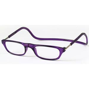 老眼鏡 クリックリーダー パープル (PU)|lensgallerys