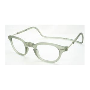 老眼鏡 クリック ヴィンテージ クリアグレー|lensgallerys