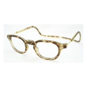 老眼鏡 クリック ヴィンテージ ライトトートイス|lensgallerys