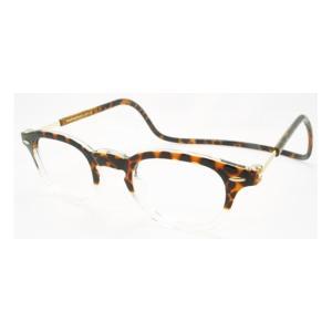 老眼鏡 クリック ヴィンテージ トートイス|lensgallerys