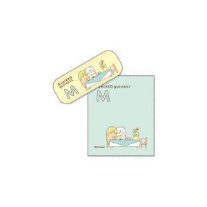 すみっコぐらし イニシャルメガネケースM&メガネ拭き|lensgallerys
