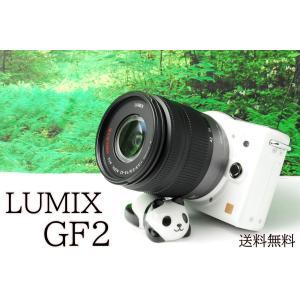 パナソニック Panasonic DMC-GF2 ブラックレンズセット 中古 ミラーレス一眼 カメラの商品画像|ナビ