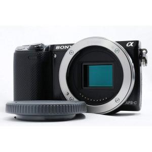 ソニー SONY NEX-5R ボディ 中古 ミラーレス 一眼 カメラ 人気 ブラック SDカード付...