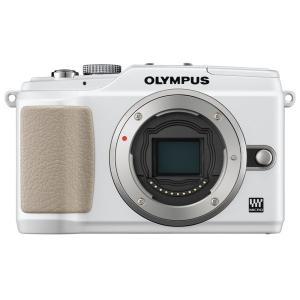 オリンパス OLYMPUS E-PL2 ミラーレス一眼レフ カメラ ボディ かわいい ホワイト 新品...