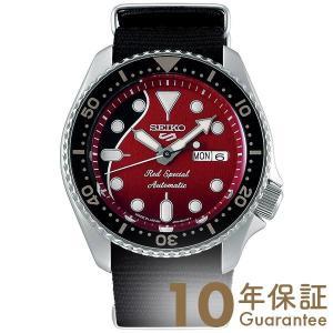 セイコー5スポーツ スポーツスタイル SEIKO 5 Sence Style 自動巻き 腕時計 ブライアン メイ コラボレーション レッド SBSA073