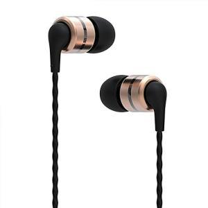 SoundMAGIC E80 イヤホン カナル型 ステレオ HIFI ハイレゾ 重低音 高音質 有線 (ゴールド)|leonkun-shop
