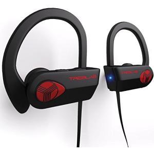 TREBLAB XR500 Bluetoothヘッドホン スポーツ/ランニング/ジム/ワークアウトに最適なワイヤレスイヤホン。 2018年更新バージョ|leonkun-shop