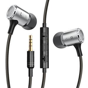 VAVAカナル型イヤホン ステレオヘッドホン ios/androidでコントロール対応可能 高音質サウンド EQモード マイク内蔵 ハンドフリー通話可|leonkun-shop