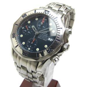 オメガ シーマスター300 クロノグラフ プロダイバー オート メンズ 時計 BOX 付属 watch メンズ 時計|leonshop