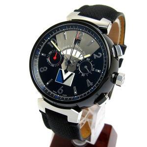 ルイヴィトン Q102G タンブール ヴィトンカップ カウントダウン メンズ 時計 LV171 レア 美品 クロノグラフ オート 自動巻き LOUIS VUITTON|leonshop