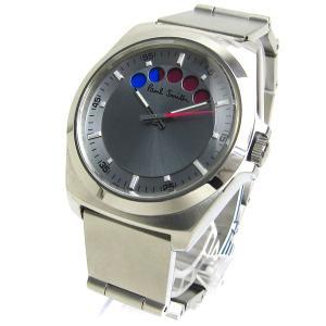 ポール スミス ファイブアイズ シルバー文字盤 メンズ 時計 クリーニング済 Paul Smith|leonshop
