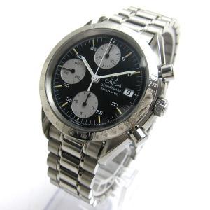 オメガ スピードマスターデイト ジャパン メンズ レア 時計 BOXつき クリーニング済 3511 自動巻き OMEGA|leonshop