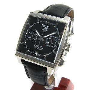 タグ・ホイヤー 時計 CAW2110 モナコ クロノ 黒文字...