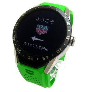 タグホイヤー 時計 コネクテッド モジュラー46 メンズ グリーン スマートウオッチ SAR8A80 FT6059 未使用 保証書 BOX付属 TAG Heuer...