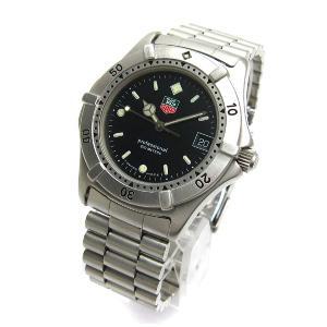 タグホイヤー 時計 プロフェッショナル200 メンズ 黒文字...