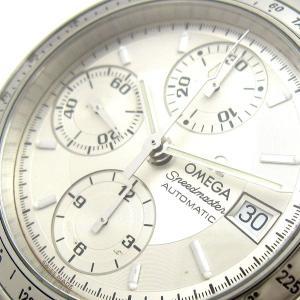 オメガ  時計 スピードマスター デイト メンズ シルバー文字盤 3513.30 BOX OMEGA 3513-30 美品|leonshop