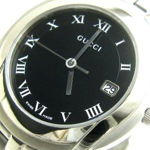 グッチ 時計 Gクラス メンズ 黒文字盤 YA055 マイナーチェンジ GUCCI 磨き仕上げ済み YA055302 5500M|leonshop