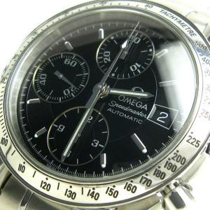 オメガ 時計 スピードマスター デイト メンズ 黒文字盤 3513.50 BOXつき OMEGA 3513-50|leonshop