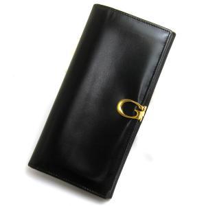 グッチ 財布 コンチネンタル 二つ折り長財布 レディース インターロッキングG  レザー 長財布 ウォレット ヴィンテージ レア|leonshop