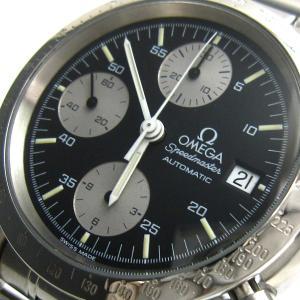 オメガ 時計 スピードマスター デイト メンズ ジャパン 保証書 BOX付き OMEGA レア|leonshop
