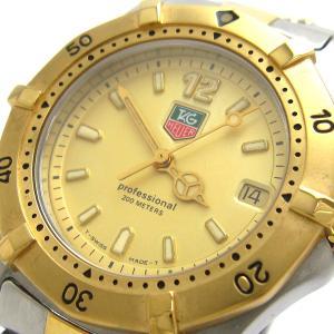 タグ・ホイヤー 時計 プロフェッショナル200 メンズ ゴールドコンビ WK1221 TAGHEUER ホイヤー|leonshop