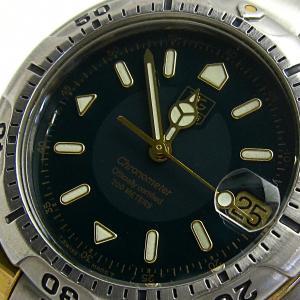 タグ・ホイヤー 時計 プロフェッショナル 6000 メンズ オート K18コンビ エスプレッソ グリーン WH5153 タグホイヤー TAGHEUER|leonshop
