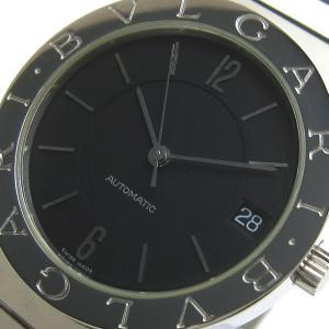ブルガリ 時計 ブルガリブルガリ メンズ オート BB33SS 黒文字盤 保証書 BOX BVLGA...