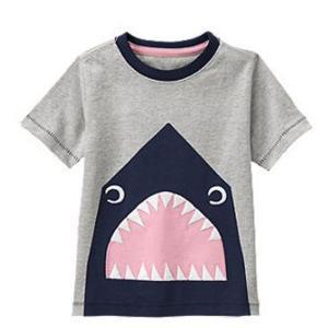 848480db785be Tシャツ 半袖 トップス tシャツ サメ Gymboree ジンボリー 男の子 キッズ ベビー 90 95 100 110