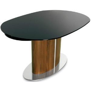 伸張式 ダイニングテーブル ガラス天板 カリガリス オデッセイ|lepice|02