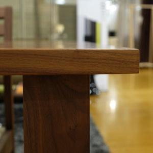 オーダー ダイニングテーブル 160×85cm ノルディカ ウォルナット|lepice|04